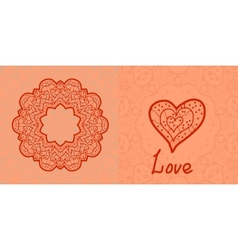 Love card valentine flayer template wedding vector