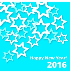 Paper stars newyear vector