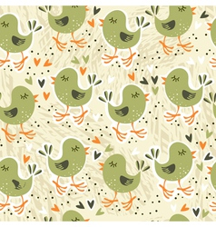 Bird backgrounds vector