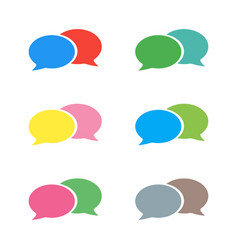 Pictograph of message or chat message vector