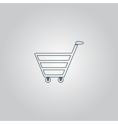 Trolley market vector