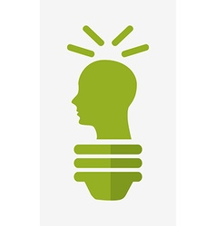 Ecological mind design vector