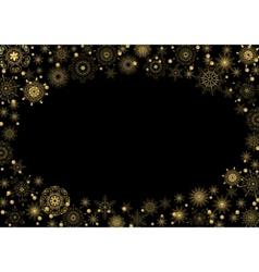 beautiful stars vector image