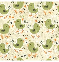 Bird backgrounds vector