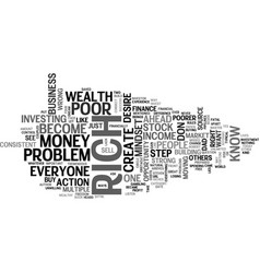 Financial freedom is everyone s dream text vector