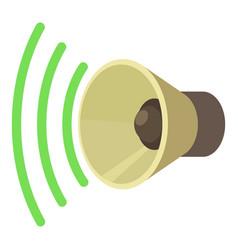 sound on icon cartoon style vector image