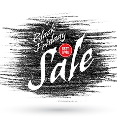 Doodle black friday discounts and sales banner vector