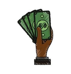 billets money symbol vector image vector image