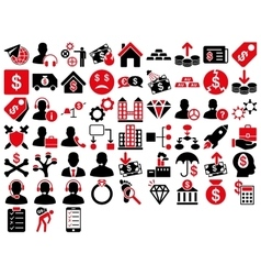 Commerce icon set vector