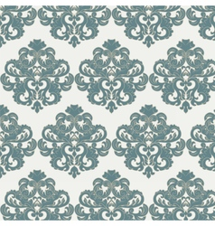 Damask royal ornament pattern vector image