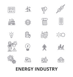 Energy industry oil and gas efficiency saving vector