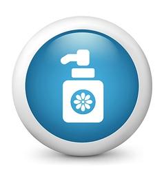 hand wash glossy icon vector image