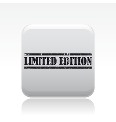 limited edition icon vector image