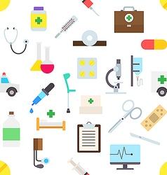 Medicine pattern stickers vector image vector image