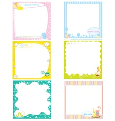 Postit Paper vector image