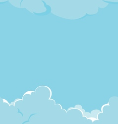 vetor clouds texture vector image