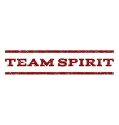 Team spirit watermark stamp vector