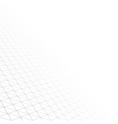 Abstract grid background with perspective vector