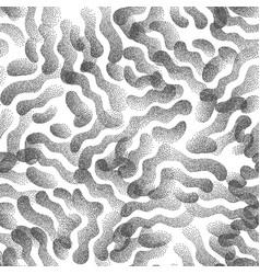 Abstract stippled weird seamless pattern vector