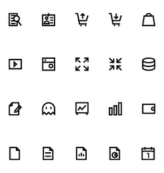 Apple watch icons 7 vector