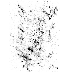 Abstract background with black blots and ink vector