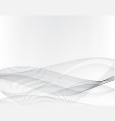 Abstract grey backgroundwavy lines and gray vector