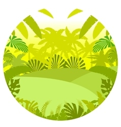 Jungle flat background14 vector