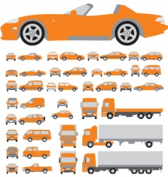 vehicle vector image