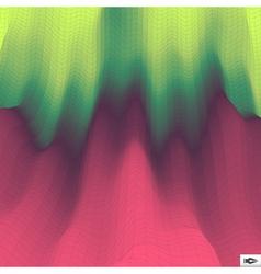 Polygonal mosaic background vector