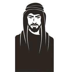arabian man vector image vector image