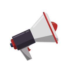 megaphone or bullhorn symbol vector image