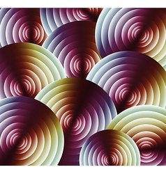 Rainbow abstract pattern vector