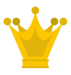 Princess crown icon isolated vector