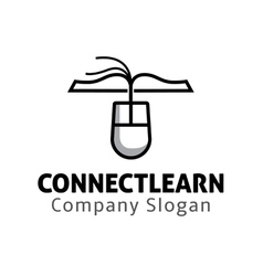 Connect learn design vector