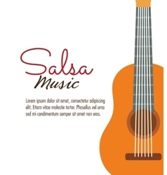 Guitar icon music instrument graphic vector