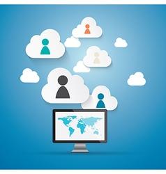 Cloud computing working vector