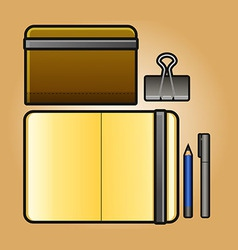 Portrait Sketchbook vector image