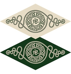 Celtic style pattern vector