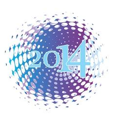 2014 celebrate vector image