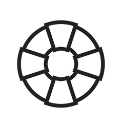 Swimming tire vector
