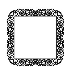 Square frame vector