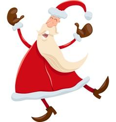 Santa claus cartoon vector