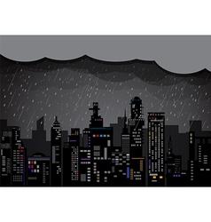City rain 2 vector