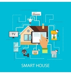 Smart house composition vector