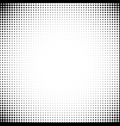 Background of dots in the corners of the vector