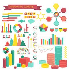 Info graphics elements vector