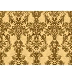 Luxury floral damask wallpaper seamless pattern vector