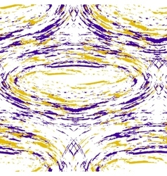 Pattern with purple and yellow stains vector image