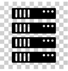 Server icon vector