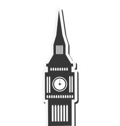 London big ben england design vector